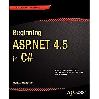Beginning ASP .NET 4.5 in C# 5th Edition