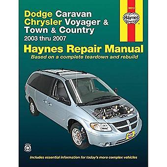 Dodge Caravan Chrysler Voyager & ville & pays: de 2003 à 2007