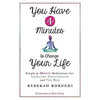 You Have 4 Minutes to Change Your Life: Simple 4-Minute Meditations for Inspiration, Transformation and True Bliss