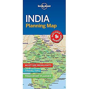 Lonely Planet Inde planification carte