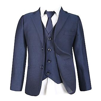 Boys All in One Blue Suit