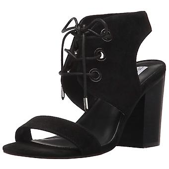 Steve Madden Womens Elgin Suede Open Toe Casual Ankle Strap Sandals