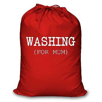 Красный прачечная мешок стирки для мамы