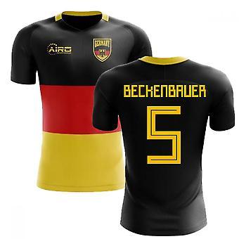 2018-2019 Alemania bandera concepto fútbol camiseta (Beckenbauer 5)