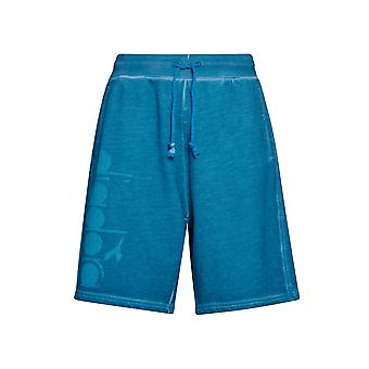 Diadora Diadora Blue Jersey Shorts