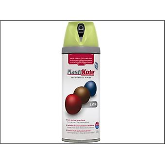 Plasti-Kote Twist & Spray Satin Pistachio 400ml