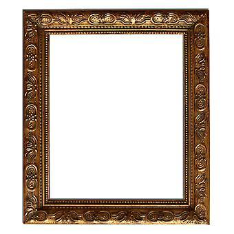 27 x 32 cm eller 11 x 13 tommer, speilet i gull