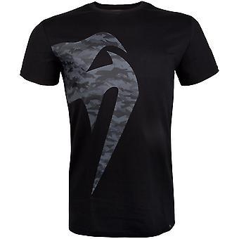 Venum Mens Riesen Camo 2.0 T-Shirt-Black/Urban Camo
