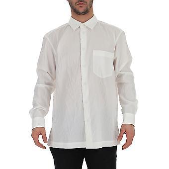 Issey Miyake White Cotton Shirt