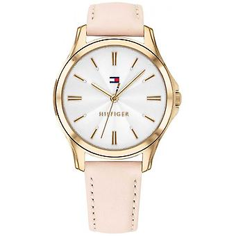 Tommy Hilfiger Women's Gold Plated Case Blush Leather 1781954 Watch