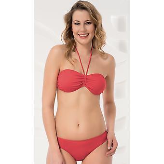 Aqua Perla - Womens - Noumea - Red- Bikini Bottom