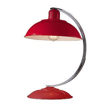 Elstead-1 lys Desk lampe trafik rød-FRANKLIN RED