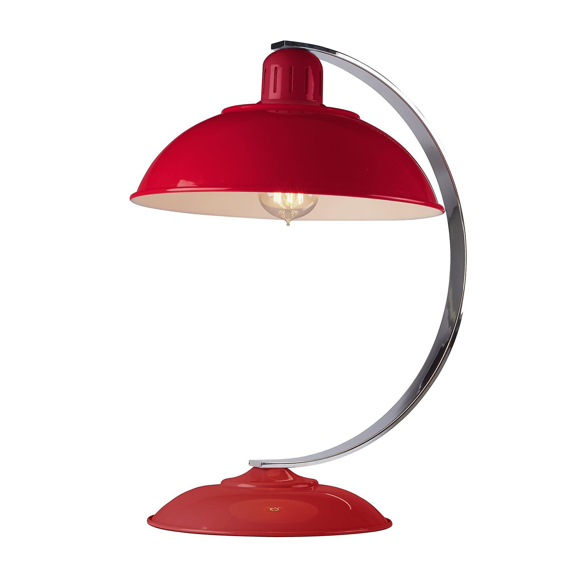 Elstead - 1 Light Desk Lamp Traffic rouge - FRANKLIN rouge