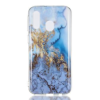 MTK Samsung Galaxy A40 TPU Marble-Style J
