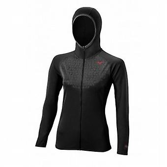 Breath Thermo felpa con cappuccio nero/scuro ardesia Womens