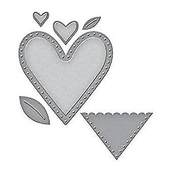 Spellbinders Die D-Lites Hearts (S3-281)