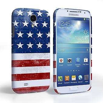 Caseflex Samsung Galaxy S4 Retro USA flagga fall
