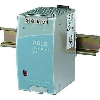 PULS SilverLine SL5.100 Rail mounted PSU (DIN) 24 Vdc 5 A 120 W 1 x