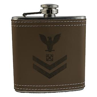 6oz boatswain mate second class flask klb