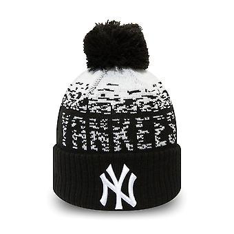 新时代儿童冬季帽子鲍勃比尼纽约洋基