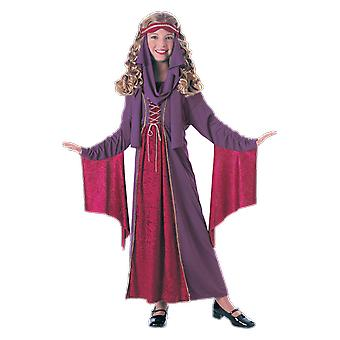 Girls Age 3 - 10 Years Renaissance Costume Fairytale Princess Fancy Dress