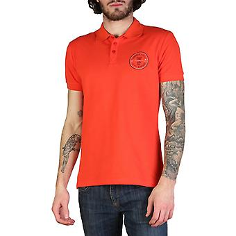 Versace Jeans Men Red Polo -- B3GT860784