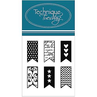 Technique Tuesday Clear Stamps 2