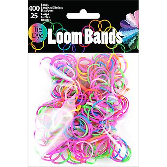 Loom Bands assortiment 425 Pkg Tie Dye Lb505a 50588