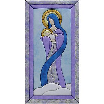 Mary & Baby Jesus Quilt Magic Kit 10
