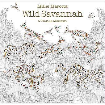 Lark Books-Wild Savannah Coloring Book LB-70896