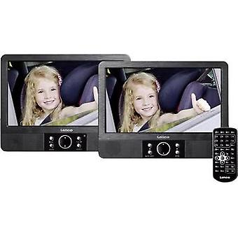 Headrest DVD player + 2 monitors Lenco MES-405