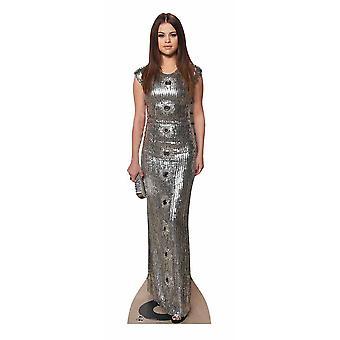 Selena Gomez Lifesize pap påklædningsdukke / Standee / står