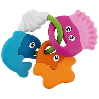 Chicco Fish Teether Rattle (Toys , Preschool , Babies , Early Childhood Toys)