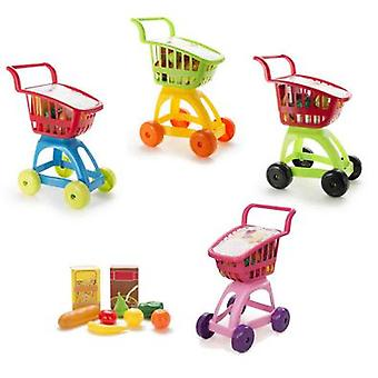 Vicam Toys Cart Super + Food Assortment (Jouets , Maison Et Professions , Métiers)