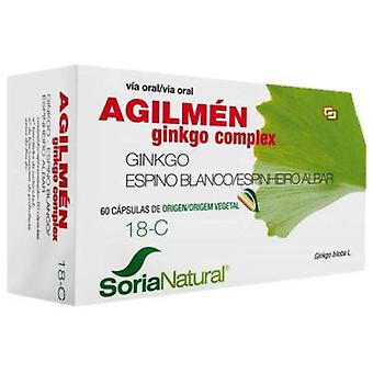 Soria Natural 18-C 30 Capsules Prolonged Release Agilment