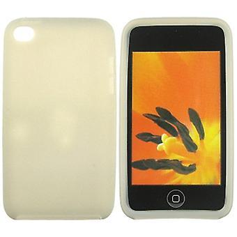 Silicona caso iPod Touch 4 (gris)