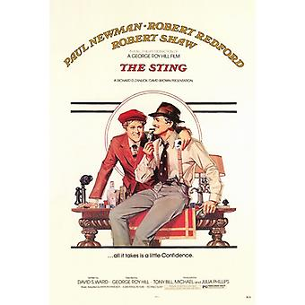 The Sting Movie Poster Print (27 x 40)