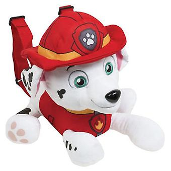 Import 33 Cm Paw Teddy Patrol Backpack (Toys , School Zone , Backpacks)