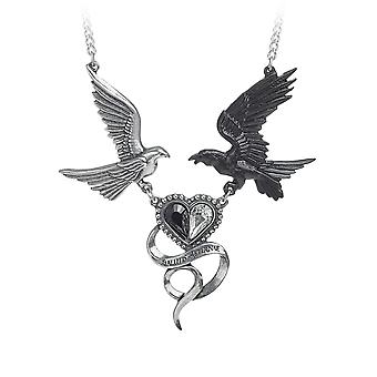 Alchemy Gothic Epiphany of St. Corvus Necklace