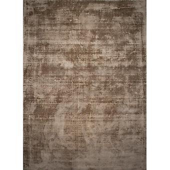 Moderne luksus Viscose guld tæppe - glans