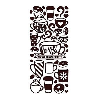 Dazzles Stickers-Coffee Mugs-Brown DAZ-2580