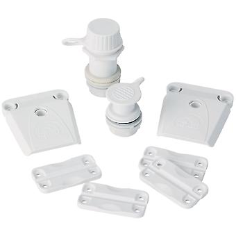 IGLOO Ice Chest Universal Parts Kit - White