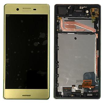 Sony display LCD complete unit with frame for Xperia X F5121 F5122 lime spare parts