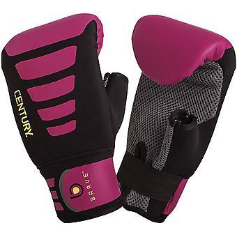 Jahrhundert Frauen mutig Neopren Slipper Beutel Boxhandschuhe - schwarz/Pink
