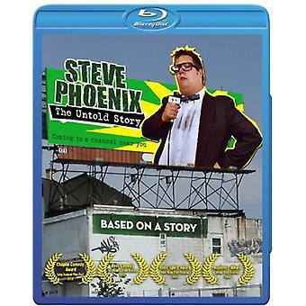 Steve Phoenix: The Untold Story [BLU-RAY] USA importerer
