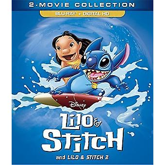 Lilo & Stitch: 2-Movie Collection [Blu-ray] USA import