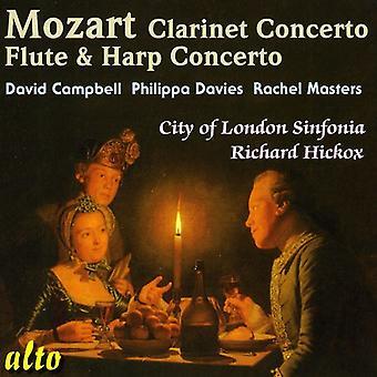 W.a. Mozart - Mozart: Klarinett Konsert; Flöjt & harpa konsert [CD] USA import