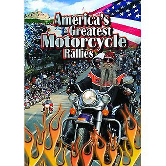 Americas største motorcykel stævner [DVD] USA importerer