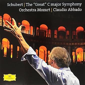 Abbado/Orchestra Moz - Schubert: The Great [Vinyl] USA import