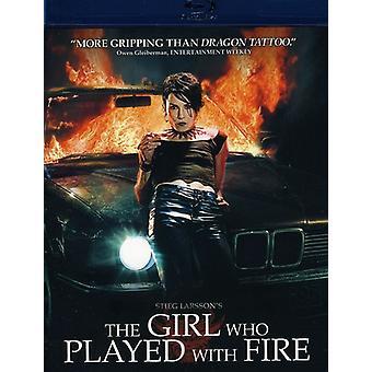 Pigen der legede med ilden [DVD] USA importerer